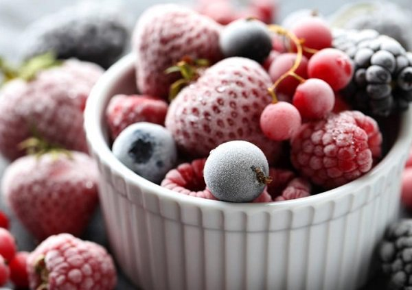 What are frozen fruits?