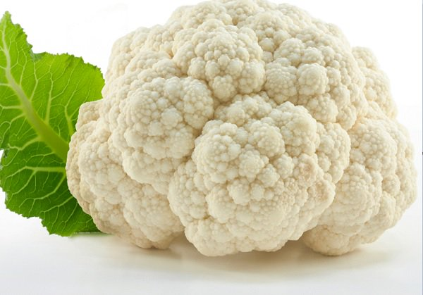 What are the benefits of white cauliflower?